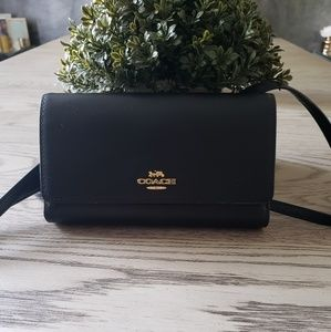 Coach crossbody bag/wallet